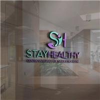 Stay Healthy , Logo e Identidade, Saúde & Nutrição