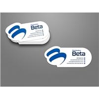 Distribuidora Beta / Medicamentos, Vitaminas, Material Hospitalar, Logo e Identidade, Saúde & Nutrição