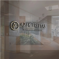 Azi e Freitas Advogados Associados, Logo e Identidade, Advocacia e Direito