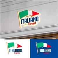 Italiano com Giorgia, Logo e Identidade, Educação & Cursos