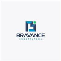 BRAVANCE CONSTRUTORA, Logo e Identidade, Construção & Engenharia