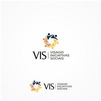 VIS - VISAGIO INICIATIVAS SOCIAIS, Logo e Identidade, Associações, ONGs ou Comunidades