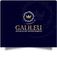 Galileu Escola de Intercâmbio, Logo e Identidade, Educação & Cursos