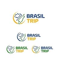 Brasil Trip, Logo e Identidade, Viagens & Lazer