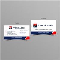 VP FABRICADOS, Logo e Identidade, Construção & Engenharia