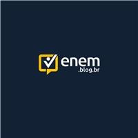 Enem.blog.br, Logo e Identidade, Educação & Cursos