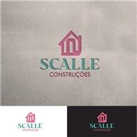 Scalle, Logo e Identidade, Construção & Engenharia
