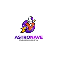 Astronave - Studio Criativo Digital, Logo e Identidade, Marketing & Comunicação