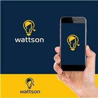 Wattson, Logo e Identidade, Metal & Energia