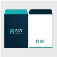 F & R Construtora e Engenharia Ltda, Logo e Identidade, Construção & Engenharia