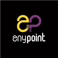 Anypoint, Logo e Identidade, Computador & Internet