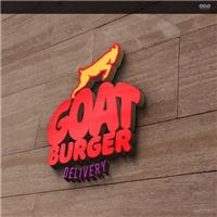 Goat Burger, Logo e Identidade, Alimentos & Bebidas