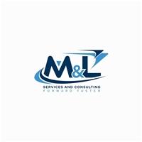 M&L Services and Consulting, Logo e Identidade, Consultoria de Negócios