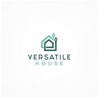 Versatile House, Logo e Identidade, Construção & Engenharia