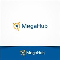 Mega Hub, Logo e Identidade, Computador & Internet