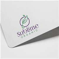 Sublime Organic, Logo e Identidade, Beleza
