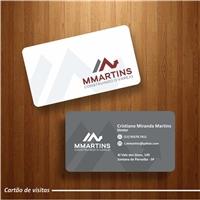 MMartins Consturindo o Varejo, Logo e Identidade, Consultoria de Negócios