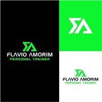 Flavio Amorim Personal Trainer, Logo e Identidade, Esportes