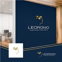 Leoronio, clinico geral e saude mental, Logo e Identidade, Saúde & Nutrição
