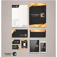 Transparência Concreta, Logo e Identidade, Construção & Engenharia