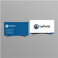 LaForte - Incorporação & Construção, Logo e Identidade, Construção & Engenharia