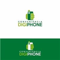 CONVENIÊNCIA DIGIPHONE, Logo e Identidade, Computador & Internet