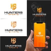 HUNTERS SPORTS, Logo e Identidade, Esportes