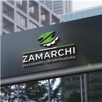 ZAMARCHI ENGENHARIA E INCORPORADORA , Logo e Identidade, Construção & Engenharia