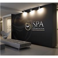 SPA Odontologia (Serviço Profissional Avançado), Logo e Identidade, Odonto