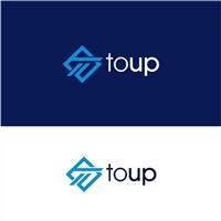 Toup Tecnologia, Logo e Identidade, Tecnologia & Ciencias