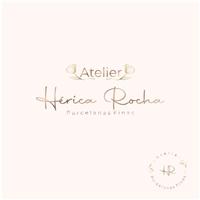 Atelier Hérica Rocha - Porcelanas Finas, Logo e Identidade, Artes, Música & Entretenimento