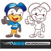 Logo e Mascote Site Webarcondicionado, Ilustraçao ou Caricatura, Site Especializado em Ar condicionado e refrigeraçao