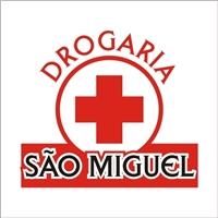 Drogaria Sao Miguel, Logo, medicamentos e perfumaria