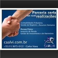 ANUNCIOS REVISTAS - CAALVI, Kit Evento Web, Consultoria de Negócios