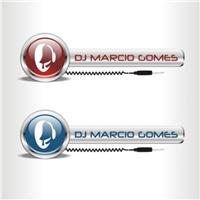 Logo e Mascote DJ Marcio Gomes, Folheto ou Cartaz (sem dobra), Música