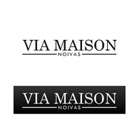 VIA MAISON, Logo, Casamento/Aluguel de Roupas