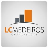 LC Medeiros Construtora, Logo e Cartao de Visita, Construção & Engenharia