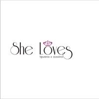 She Loves, Logo, Bijouterias e Acessorios Femininos