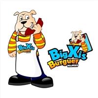 Big Xis Burguer, Logo, Alimentaçao