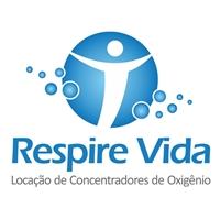 Respire Vida, Logo, Locaçao de concentradores de Oxigênio