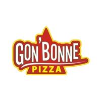 "Gon""bonne PIZZA, Tag, Adesivo e Etiqueta, Pizzaria"