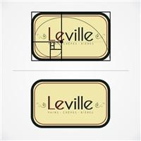 Leville, Tag, Adesivo e Etiqueta, Bar/Restaurante/Creperia