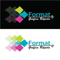Gráfica Rápida, Logo, Gráfico