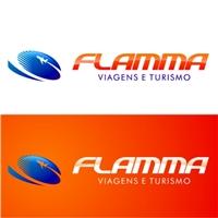 Flamma Viagens e Turismo, Logo, Viagens & Lazer