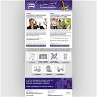 Newsletter periodica, Cardápio, Carrinhos de Supermercado