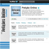 Petiçoes ON LINE, Papel de Parede, Venda de produtos jurídicos na internet