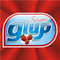 Sorvetes  Glup, Logo e Cartao de Visita, Sorvete e picolé