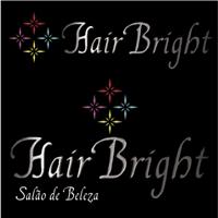 Hair bright, Logo e Cartao de Visita, Salao de beleza