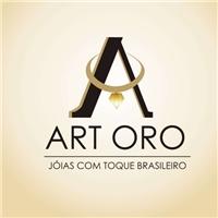 ART ORO JOIAS, Logo,  FABRICAMOS E VENDEMOS JOIAS EM PRATA E OURO COM PEDRAS NATURAIS BRASILEIRAS