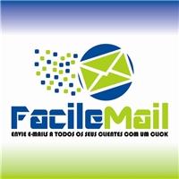 FACILE MAIL ENVIE E-MAILS A TODOS OS SEUS CLIENTES COM UM CLICK, Logo, EMPRESA DE EMAIL MARKETING